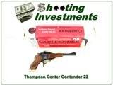 Thompson Center Contender 25th Anniversary NIB!