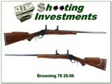 Browning Model 78 hard to find 26in heavy barrel 25-06