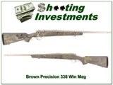 Brown Precision 338 Win Mag