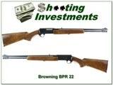 Browning BPR 22 LR Exc Wood Grain!