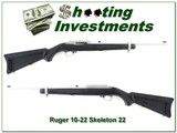 Ruger 710-22 All Weather Stainless Zytel Skeleton RARE!