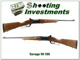 Savage Model 99A Rare 358 Winchester looks unfired!