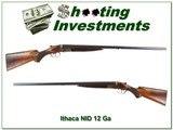 Ithaca NID Field Grade 12 Gauge 30 in nice wood - 1 of 4