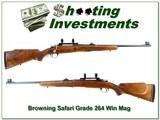 Browning Safari Grade 1963 Belgium 264 Win Mag