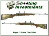 Ruger Model 77 Guide Gun hard to find30-06 with break - 1 of 4