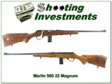 Marlin Model 980 22 Magnum 1969 JM marked as new collector 100 year!