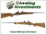 Kimber 84M Select Grade 257 Roberts XX Wood! - 1 of 4