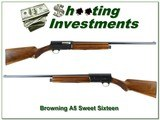 Browning A5 1957 Sweet Sixteen 26in IC looks new!