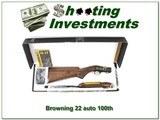 Browning 22 Auto 100 Year 22 LR Octagonal High Grade 100 made!