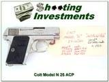 Colt Model N 1908 25 ACP made in 1920