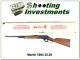 Marlin 1894 Classic 32-20 unfired in box JM Marked!