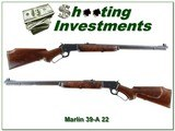 Marlin 39 A made in 1947 pre-Golden XX Wood