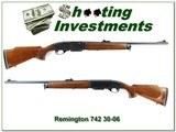 Remington 742 Woodsmaster 1974 made 30-06