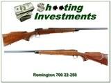 Remington 700 Varmint Special 1968 made 22-250 collector!