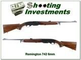 Remington 742 Deluxe Woodsmaster 1965 made 6mm Remington