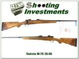 Dakota Model 76 Custom ordered in 1996 unfired 30-06 - 1 of 4