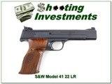 Smith & Wesson Model 41 5.5in 22 Semi-Auto