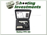 Walther PPK Stainless 380 ANIC