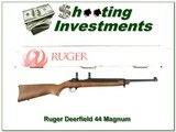 Ruger Deerfield Carbine 44 Magnum Semi-auto