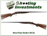 Ithaca Flues RARE Grade 4 20 Ga Full & Full - 1 of 4