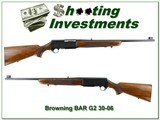 Browning BAR Grade II 1969 Belgium 30-06