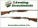 Browning MAXUS ULTIMATE 12 GA 3in 28in UNFIRED!