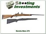 Beretta Mato (Dakota 97) 270 Win 2 factory stocks!
