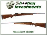 Winchester Model 70 Featherweight hard to find 325 WSM unfired!