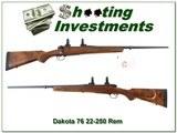 Dakota Model 76 Custom ordered in 1996 as new 22-250 Rem