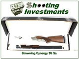 Browning Cynergy Classic Field no longer made 28Ga near new!