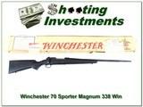 Winchester 70 XTR Sporter Magnum WinLite 338 Winchester IN BOX!