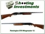 Remington 870 Wingmaster 12 Ga 26in IC Vent Rib!
