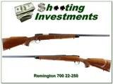 Remington 700 Varmint Special 22-250 Rem Pressed Checkering