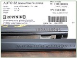 Browning 22 Auto 100 Year 22 LR Octagonal High Grade 100 made! - 4 of 4