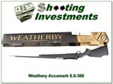 Weatherby Mark V Accumark 6.5-300 factory new - 1 of 4