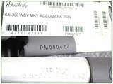 Weatherby Mark V Accumark 6.5-300 factory new - 4 of 4