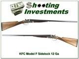 KFC (Kawaguchiya) Sidelock Model F 12 Gauge Exc Cond