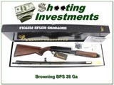 Browning BPS 28 Gauge 1999 made NIB and perfect!