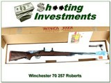 Winchester Model 70 Cabelas 50th Anniversary Supergrade 257 Roberts - 1 of 4