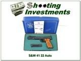 Smith & Wesson Model 41 22 auto 7in barrel in box!