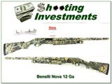 Benelli Nova 12 Ga 3.5in Advantage MAX 4 camo Exc Cond
