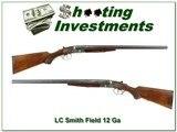 LC Smith Field 12 Ga 24in barrels nice bird gun