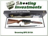 Browning BPS Engraved 20 Gauge 1996 made NIB and perfect!