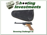 Browning Challenger 1967 Belgium Exc Cond in black pouch! - 1 of 4