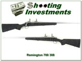 Remington 700 Stainless Fluted 308 26in Near New Cond