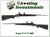 Ruger 77/17 Skeleton Zytel stock in 17 HMR hard to find
