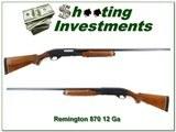 Remington 870 Wingmaster 30in full barrel - 1 of 4