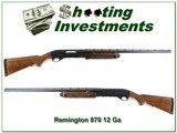 Remington 870 Wingmaster 28in VR Modifed near new