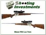 Blaser R93 Lux in 7mm Rem Mag with Schmidt & Bender Stratos 1.1-5x24