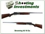 Browning A5 16 Gauge 1939 pre-war very nice!